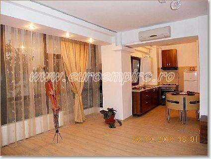 Apartament inchiriere Constanta 3 camere, suprafata utila 100 mp, 2 grupuri sanitare. 400 euro. Etajul 2 / 5. Apartament Km 4-5 Constanta