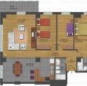 vanzare apartament decomandat, zona Faleza Nord, orasul Constanta, suprafata utila 126 mp
