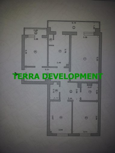 vanzare apartament decomandat, zona Victoria, orasul Constanta, suprafata utila 85 mp