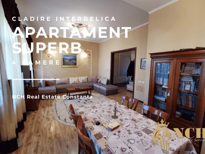 Apartament de vanzare direct de la agentie imobiliara, in Constanta, in zona Ultracentral, cu 189.900 euro. 3  balcoane, 2 grupuri sanitare, suprafata utila 149 mp.