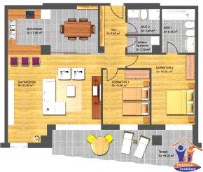 Constanta, zona Faleza Nord, duplex cu 5 camere de vanzare