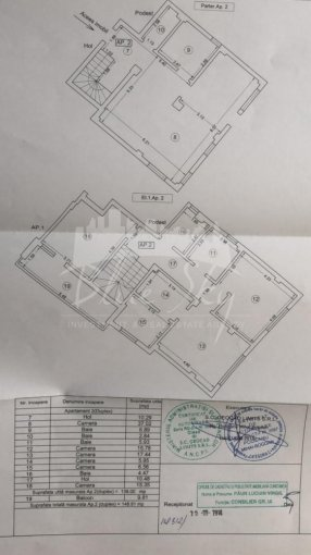 Apartament vanzare Constanta 5 camere, suprafata utila 180 mp, 2 grupuri sanitare. 170.000 euro negociabil. La Parter. Apartament Victoria Constanta