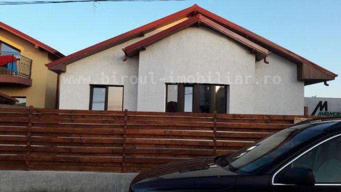 Cumpana casa cu 4 camere, 1 grup sanitar, cu suprafata utila de 125 mp, suprafata teren 380 mp si deschidere de 15 metri. In comuna Cumpana.