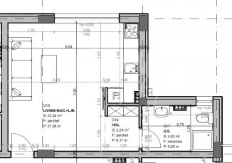 Garsoniera de vanzare, confort Lux, zona Mamaia Nord, Constanta