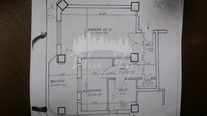 Garsoniera de vanzare direct de la agentie imobiliara, in Constanta, zona Tomis 1, cu 46.500 euro negociabil. 1 grup sanitar, suprafata utila 50 mp.