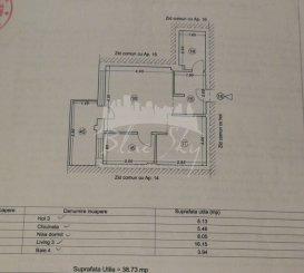 vanzare garsoniera decomandata, zona Tomis Plus, orasul Constanta, suprafata utila 50 mp