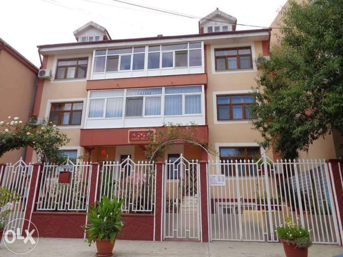 Mini hotel / Pensiune cu 18 camere, 2 etaje, cu suprafata utila de 602 mp, 18 grupuri sanitare, 7  balcoane. 350.000 euro. Destinatie: (mini) Hotel / Pensiune. Mini hotel / Pensiune Eforie Nord  Constanta