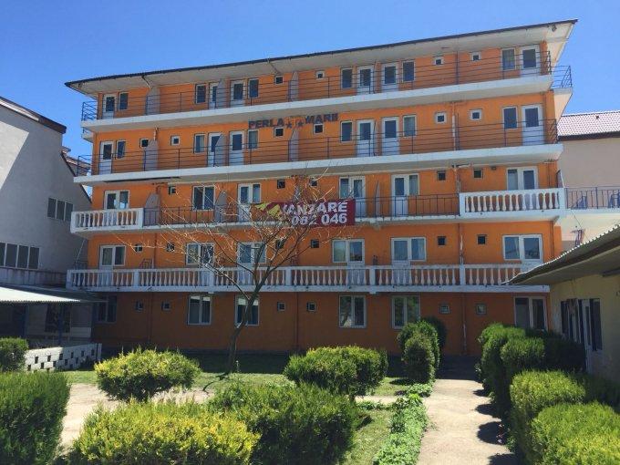 Mini hotel / Pensiune cu 51 camere, 4 etaje, cu suprafata utila de 1280 mp, 51 grupuri sanitare. 339.000 euro. Destinatie: Rezidenta. Mini hotel / Pensiune Costinesti  Constanta
