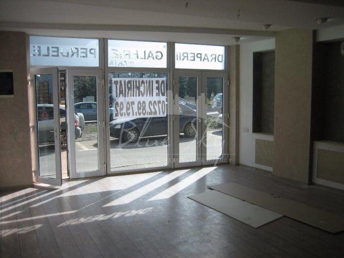 Spatiu comercial de inchiriat direct de la agentie imobiliara, in Constanta, zona Centru, cu 650 euro negociabil. 1 grup sanitar, suprafata utila 51 mp.