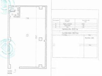 vanzare Spatiu comercial 90 mp cu 1 incapere, 1 grup sanitar, zona Tomis Nord, orasul Constanta