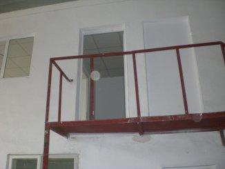 Spatiu industrial de inchiriat cu 2 incaperi, 186 metri patrati utili, in Interioara  Constanta