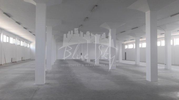Spatiu industrial de inchiriat direct de la agentie imobiliara, in Constanta, zona Interioara, cu 3.000 euro negociabil. 1 grup sanitar, suprafata utila 932 mp.