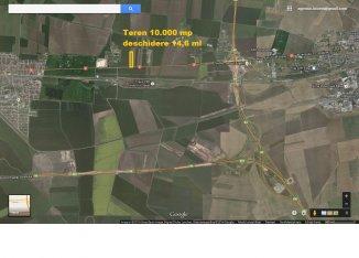 vanzare 10000 metri patrati teren agricol extravilan, orasul Constanta, zona Varianta Ovidiu