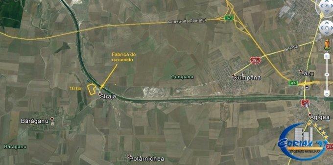teren agricol vanzare de 10 metri patrati, extravilan.  euro. Utilitati: Apa, Curent electric 220V. Teren Constanta