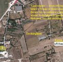 Vand teren Techirghiol – teren 1022mp, compus din 2 loturi x 511mp cu 16euro/mp