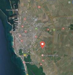 proprietar vand Teren agricol in suprafata de 7000 metri patrati, amplasat in zona Varianta Ovidiu, orasul Constanta