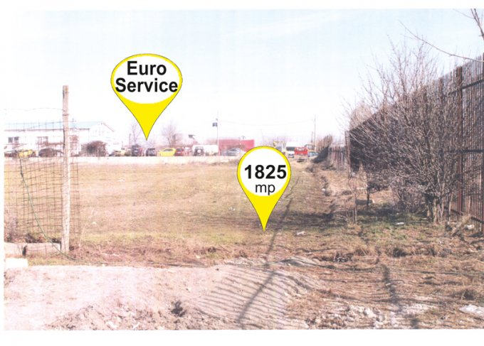de vanzare teren extravilan in suprafata de 1825 mp si deschidere de 13 metri. In orasul Constanta, zona Aurel Vlaicu. Utilitati: Gaze, Curent electric 220V, Apa.