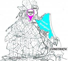 Constanta Ovidiu, zona Vest, teren extravilan de vanzare de la agentie imobiliara