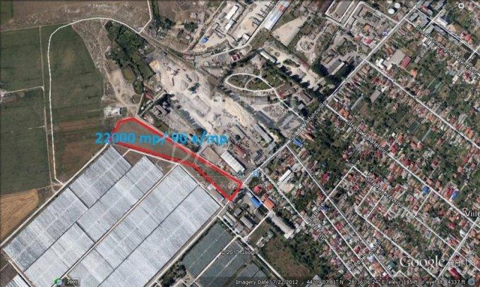 de vanzare teren intravilan cu suprafata de 22000 mp si deschidere de 44625 metri. In orasul Constanta, zona Sere.