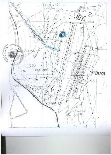 Teren vanzare de 1195 metri patrati, intravilan. 6.500 euro negociabil. Utilitati: Curent electric 220V, Apa. Destinatie: Rezidenta. Teren  Piatra  Constanta