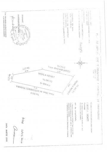 Teren intravilan de vanzare direct de la proprietar, in Palazu Mare, cu 194.205 lei negociabil. Suprafata de teren 850 metri patrati cu deschidere de 10 metri.  Destinatie: Rezidenta, Vacanta, (mini) Hotel / Pensiune.