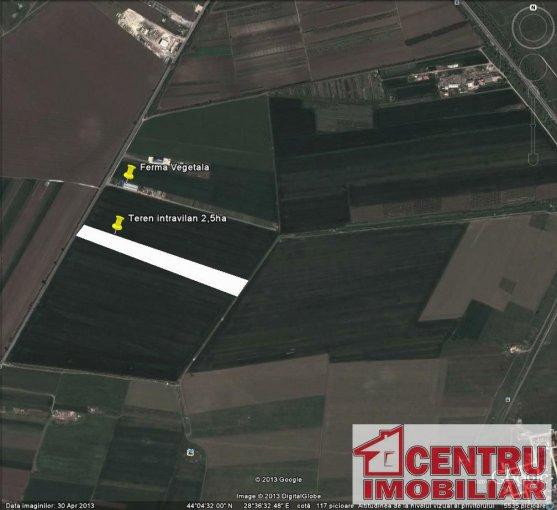 Teren intravilan de vanzare in Agigea. Suprafata terenului 25000 metri patrati, deschidere 23 metri. Pret:  EUR negociabil. Destinatie: Rezidenta, Comercial, Vacanta, Centru de afaceri, (mini) Hotel / Pensiune.