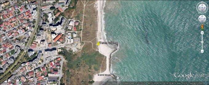 Teren intravilan de vanzare direct de la agentie imobiliara, in Constanta, zona Spitalul Mare, cu  EUR. Suprafata de teren 350 metri patrati cu deschidere de 10 metri.