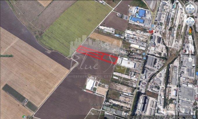 Teren intravilan de vanzare direct de la agentie imobiliara, in Constanta, zona Metro 1, cu 135.000 euro negociabil. Suprafata de teren 23000 metri patrati cu deschidere de 56 metri.