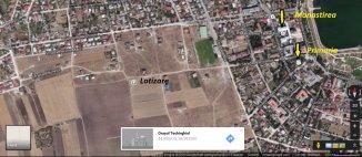 vanzare 464 metri patrati teren intravilan, orasul Techirghiol