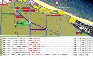 515 mp teren intravilan de vanzare, Corbu Constanta