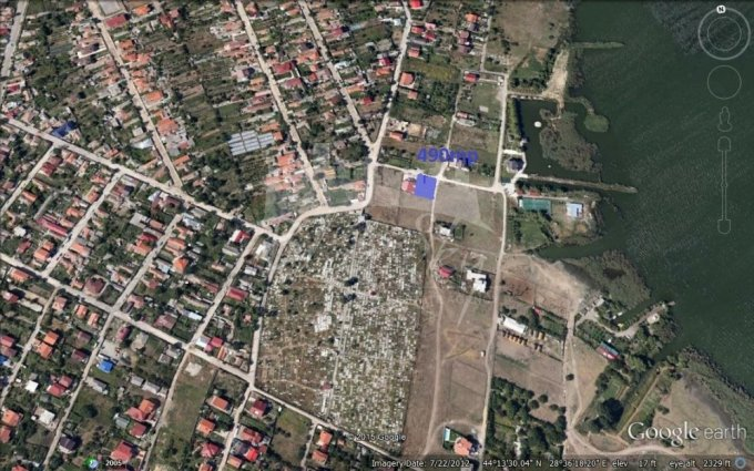 Teren intravilan de vanzare direct de la agentie imobiliara, in Constanta, zona Palazu Mare, cu 46.000 euro negociabil. Suprafata de teren 490 metri patrati cu deschidere de 20 metri.
