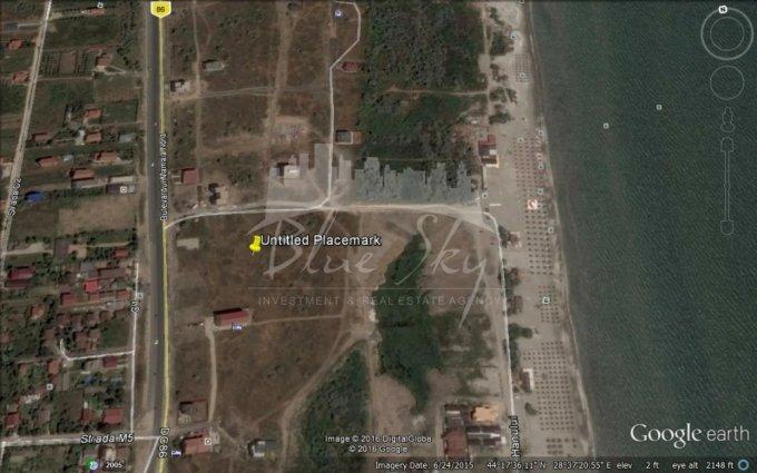 Teren vanzare de 530 metri patrati, intravilan. 159.000 euro negociabil. Teren  Mamaia Nord Constanta