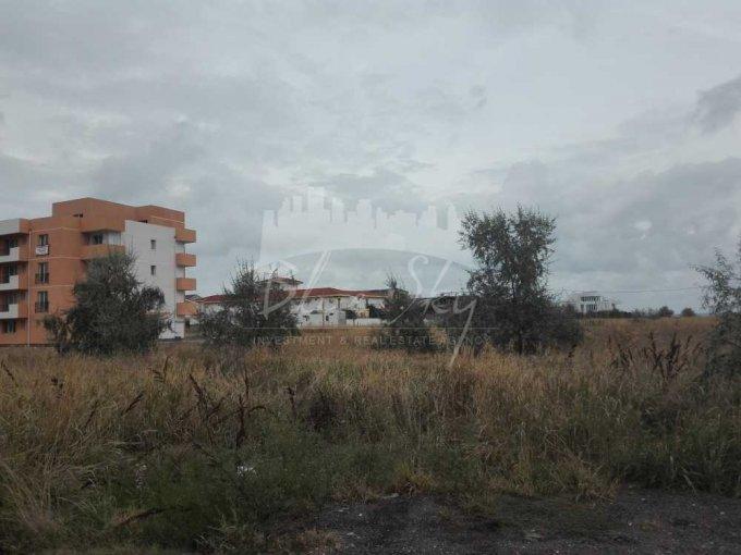 de vanzare teren intravilan cu suprafata de 510 mp si deschidere de 17 metri. In orasul Constanta, zona Mamaia Nord.