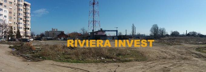 Teren intravilan de vanzare in Constanta, zona Gara. Suprafata terenului 896 metri patrati, deschidere 22 metri. Pret: 185.000 euro. Destinatie: Rezidenta, Birou.
