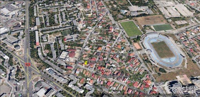 Teren intravilan de vanzare direct de la agentie imobiliara, in Constanta, zona Stadion, cu 189.900 euro. Suprafata de teren 365 metri patrati cu deschidere de 20.7 metri.  Destinatie: Rezidenta.
