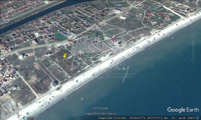 de vanzare teren intravilan cu suprafata de 9000 mp si deschidere de 48 metri. In orasul Constanta, zona Mamaia Nord.