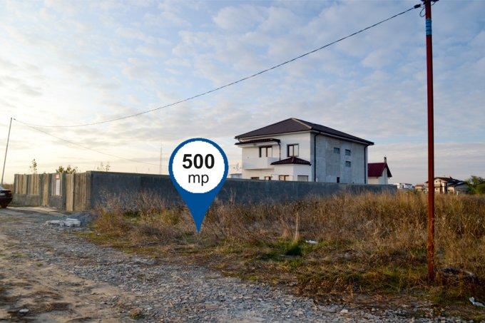 de vanzare teren intravilan cu suprafata de 500 mp si deschidere de 12.35 metri. In orasul Constanta, zona Veterani.