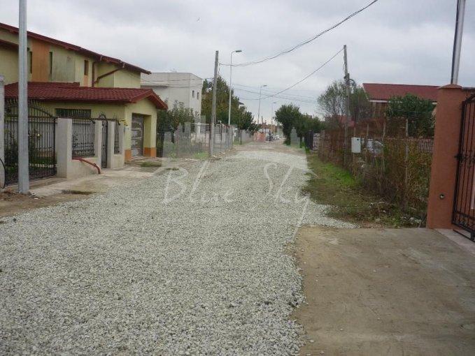 de vanzare teren intravilan cu suprafata de 1000 mp si deschidere de 41 metri. In orasul Constanta, zona Kamsas.