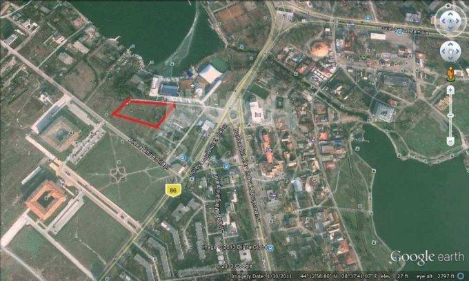 Teren intravilan de vanzare in Constanta, zona Campus. Suprafata terenului 1980 metri patrati, deschidere 65 metri. Pret: 1.700.000 euro negociabil.