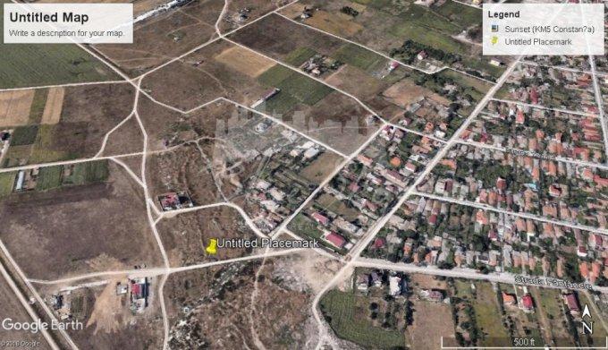 Teren intravilan de vanzare direct de la agentie imobiliara, in Constanta, zona Km 5, cu 30.000 euro negociabil. Suprafata de teren 500 metri patrati cu deschidere de 15 metri.