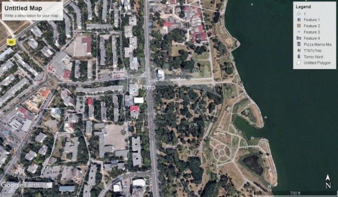 de vanzare teren intravilan cu suprafata de 343 mp si deschidere de 2417 metri. In orasul Constanta, zona Tomis Nord.