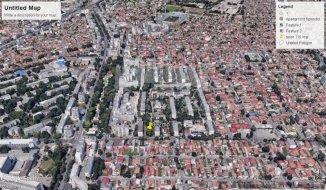 vanzare teren intravilan de la agentie imobiliara cu suprafata de 822 mp, in zona Tomis 1, orasul Constanta
