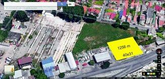 proprietar vand teren intravilan in suprafata de 1256 metri patrati, amplasat in zona Casa de Cultura, orasul Constanta