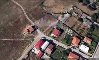 vanzare 625 metri patrati teren intravilan, zona Vila Cucoanei, orasul Constanta