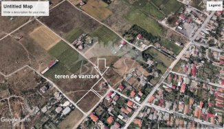 2886 mp teren intravilan de vanzare, in zona Vila Cucoanei, Constanta