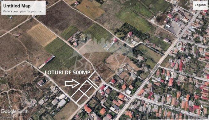 Teren intravilan de vanzare direct de la agentie imobiliara, in Constanta, zona Vila Cucoanei, cu 45.000 euro negociabil. Suprafata de teren 500 metri patrati cu deschidere de 25 metri.