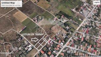agentie imobiliara vand teren intravilan in suprafata de 500 metri patrati, amplasat in zona Vila Cucoanei, orasul Constanta