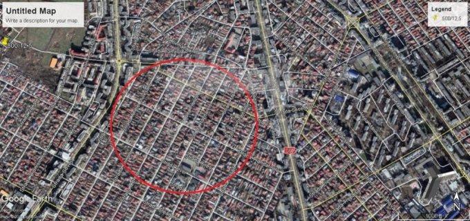 de vanzare teren intravilan cu suprafata de 304 mp si deschidere de 1236 metri. In orasul Constanta, zona Coiciu.