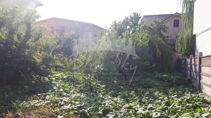 de vanzare teren intravilan cu suprafata de 306 mp si deschidere de 15 metri. In orasul Constanta, zona Kamsas.