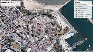 vanzare 200 metri patrati teren intravilan, zona Piata Ovidiu, orasul Constanta